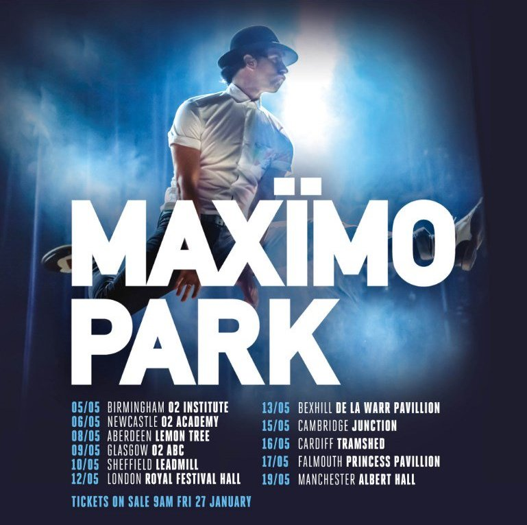 Mix It All Up: Maximo Park UK tour 2017. Risk to Exist.