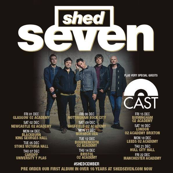 Mix It All Up Shed Seven First Album in 16 years