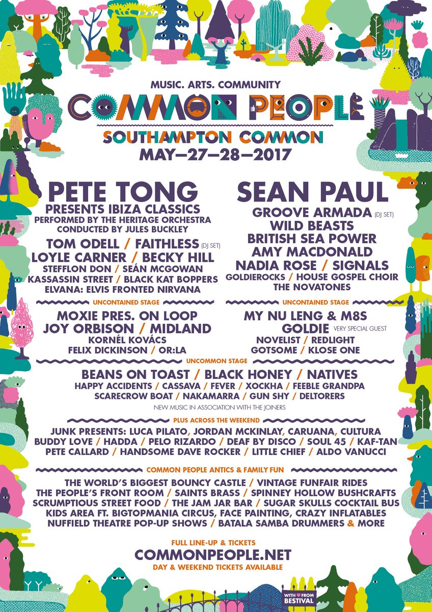 mix it all up common people southampton lineup