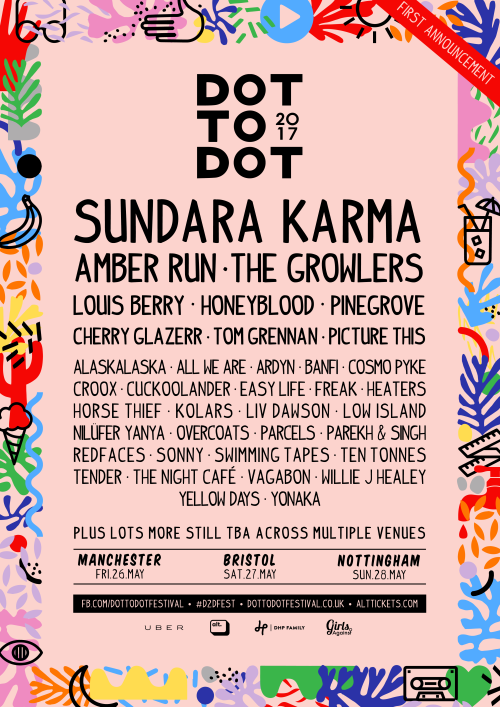 mix it all up: dot to dot 2017 lineup