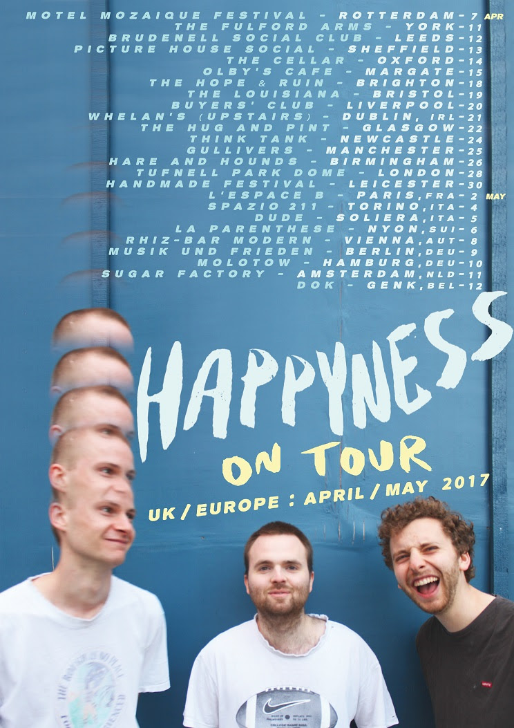 Mix it all up happyness tour