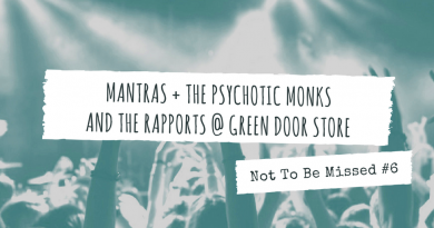 MANTRAS + THE PSYCHOTIC MONKS AND THE RAPPORTS @ GREEN DOOR STORE