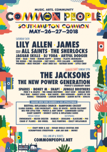 Common People Southampton 2018 lineup announcement