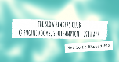 The Slow Readers Club @ Engine Rooms, 27th April
