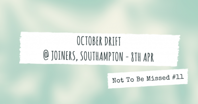 October Drift @ Joiners, Southampton - 8th April