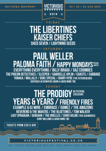 Victorious Festival 2018 Line Up Poster