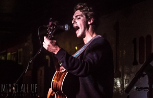 Sam Johnson supporting Nick J.D. Hodgson @ The 100 Club, April 2018