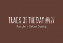 Track of the day #427: Pursohn – Default Setting