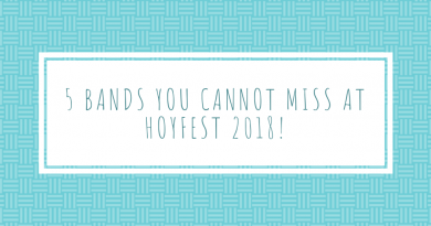 5 Bands You Cannot Miss At Hoyfest 2018.