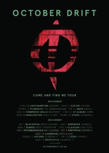 October Drift announce November/December UK tour!