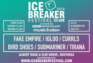 Icebreaker Festival announces second wave of acts for 2019!