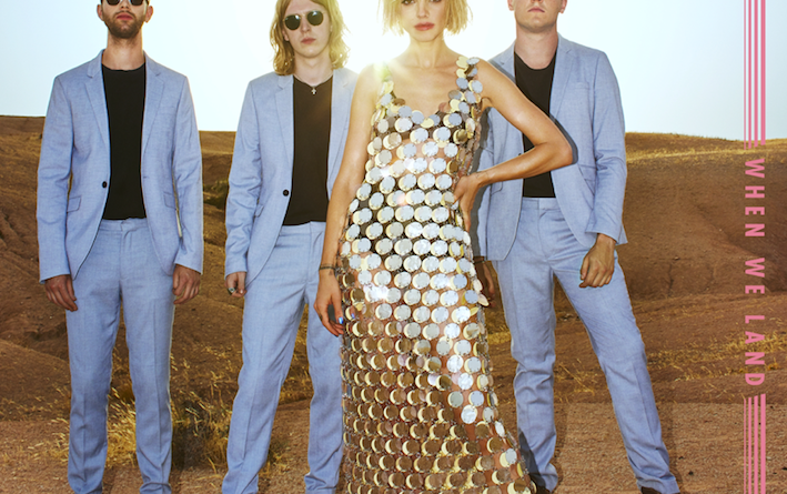 Anteros announce debut album alongside brand new single Ordinary Girl.