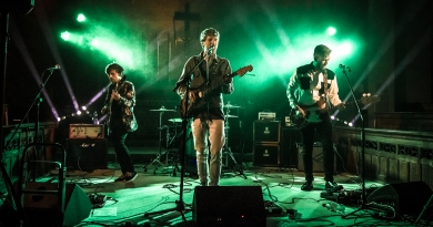 Capital Fuzz live at Cool Gig in a Church III, Gosport, 2019