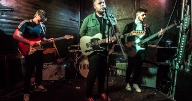 Pioneers live at the Edge of the Wedge, Portsmouth - 09/05/19