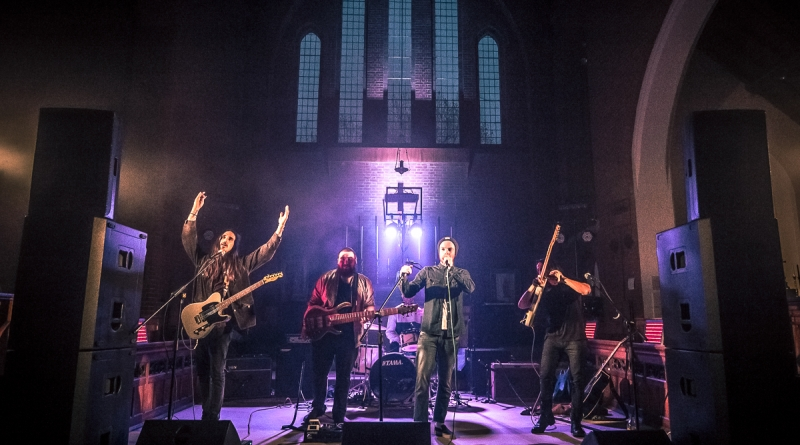 """Colour of the Jungle supporting Sad Palace EP launch, """"Cool Gig in a Church 4"""", Gosport - 03/05/2019"""