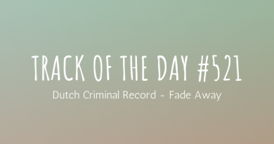 Dutch Criminal Record - Fade Away