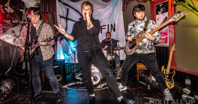 Paraffin live at The Loft, Southsea - 29/11/19