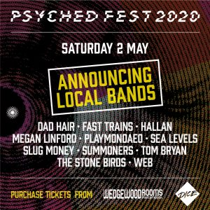 Psyched Fest (Portsmouth) 2020 local bands