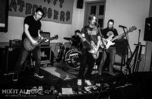 Curbwire @ The Birdcage, Southsea - 05/03/20