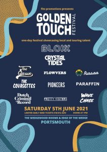 Golden Touch Festival Announces 11 Acts for 2021 Event!