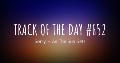Sorry - As The Sun Sets