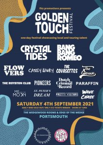 Golden Touch Festival, Portsmouth Announce Lineup for September 2021 Event!