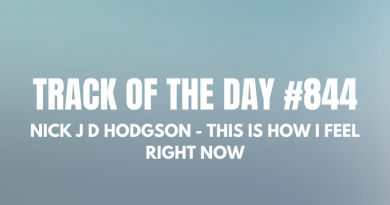 Nick J D Hodgson - This Is How I Feel Right Now