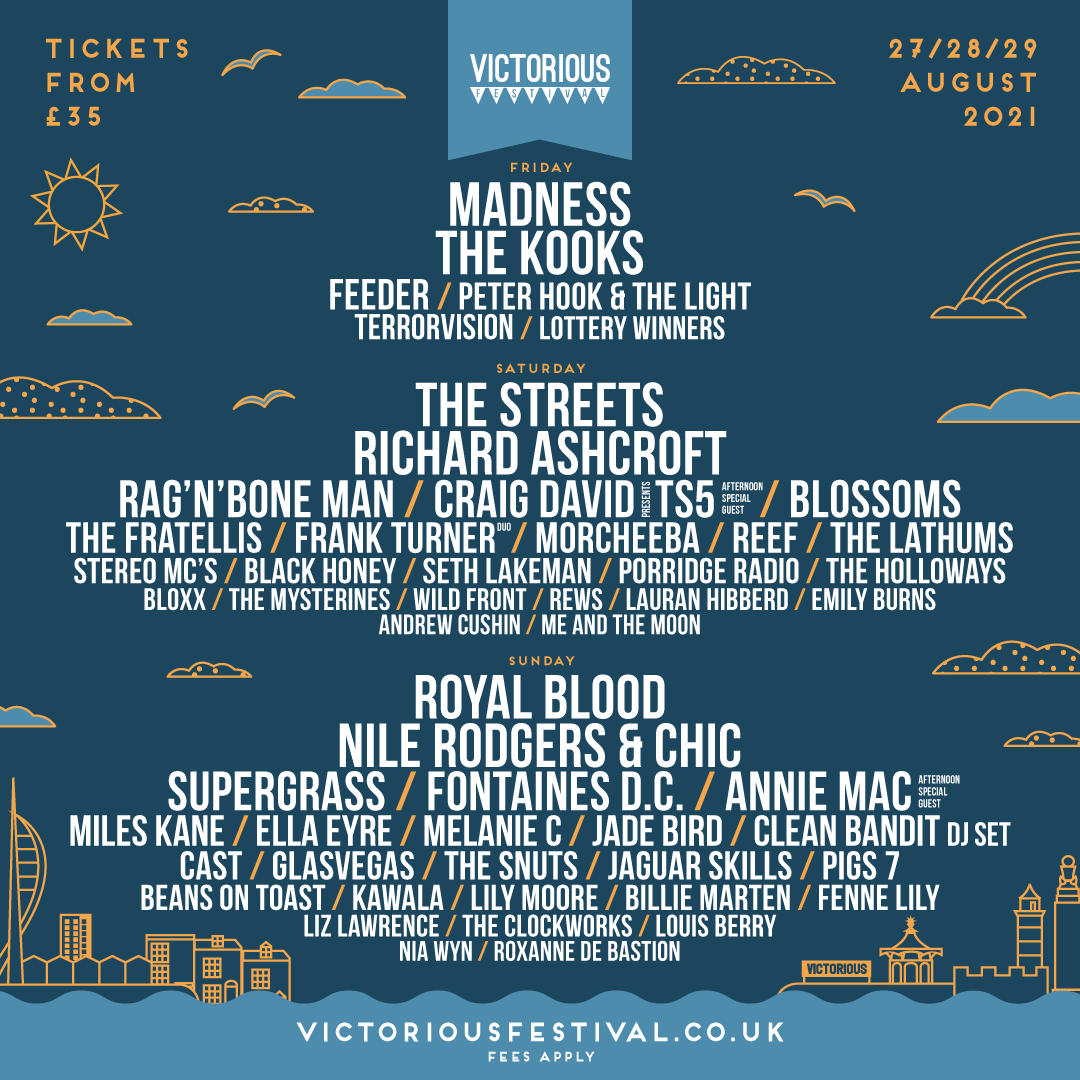 Victorious Festival 2021 Lineup 2